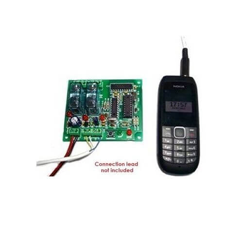 2-Channel Mobile Phone Remote Control Relay Board