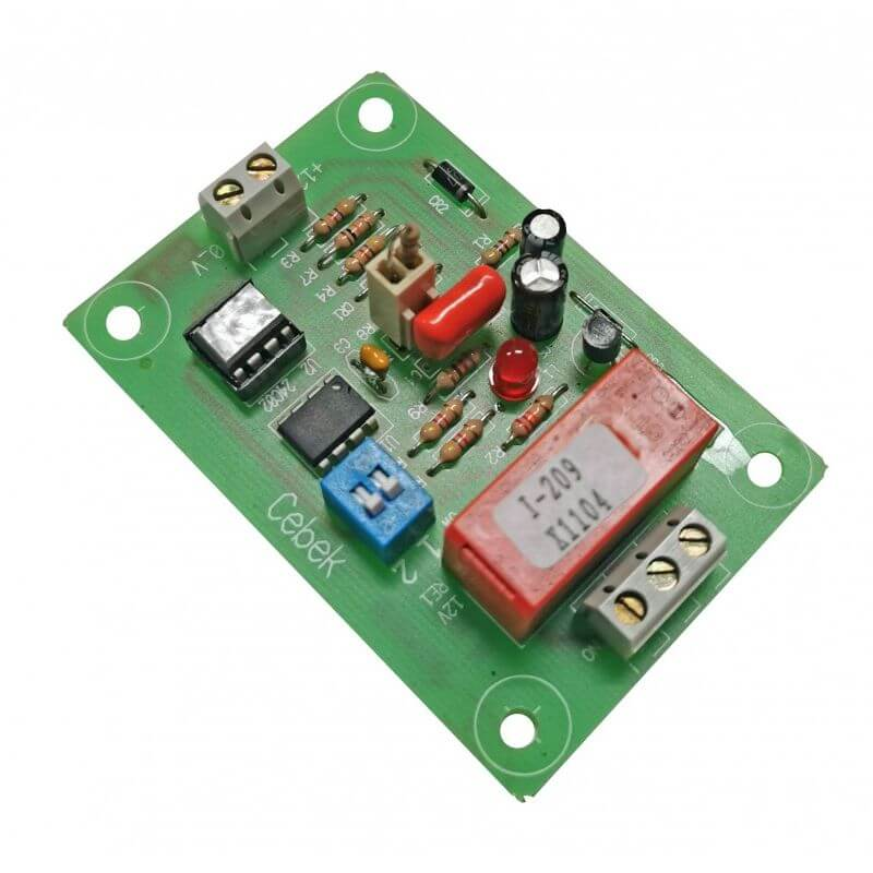 Monthly Timer Relay Board, 1/2/3/6 Month, Electronic Key Reset