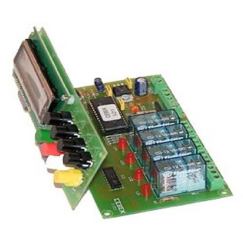 Cebek I-211 (CI211) - 4 Channel Programmable Sequential Controller Relay Module