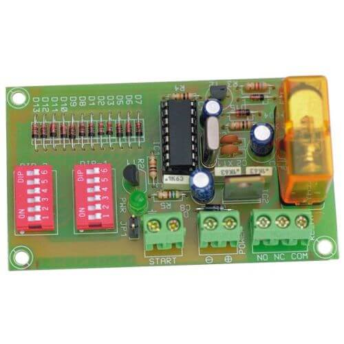 12Vdc Cyclic Timer Relay Module, 0.15 to 60 Seconds