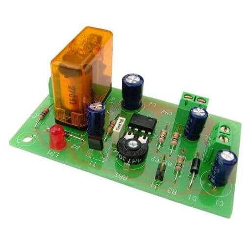 12Vdc Re-Triggerable Delay Timer Module, 2 - 45 Minute