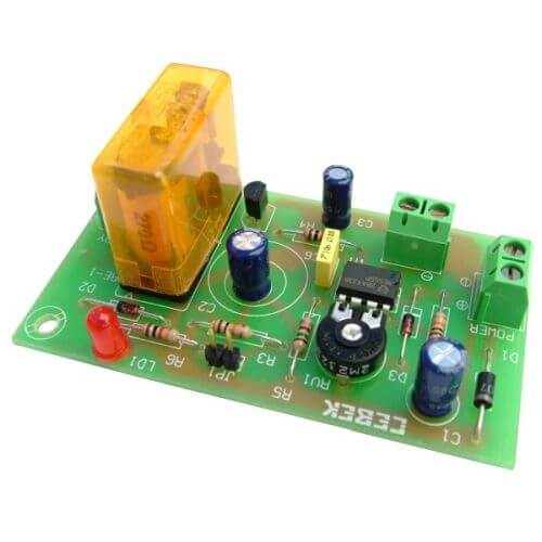Cebek I-39 12Vdc Turn-Off Delay Timer Relay Module, 2 to 45 Minute | Quasar UK