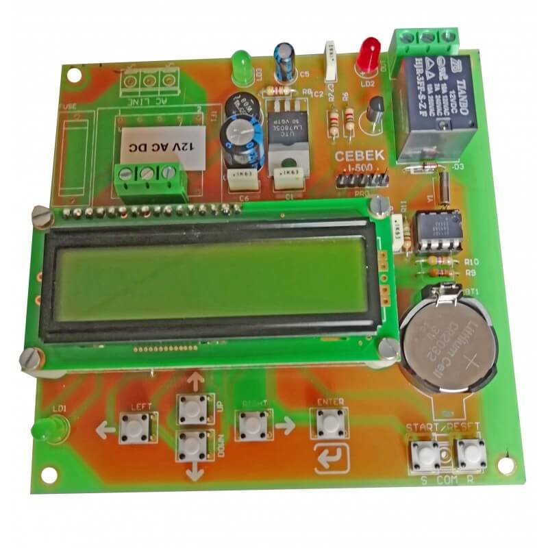 Long Duration Programmable Timer, 999 Day, Display, Relay, 12V