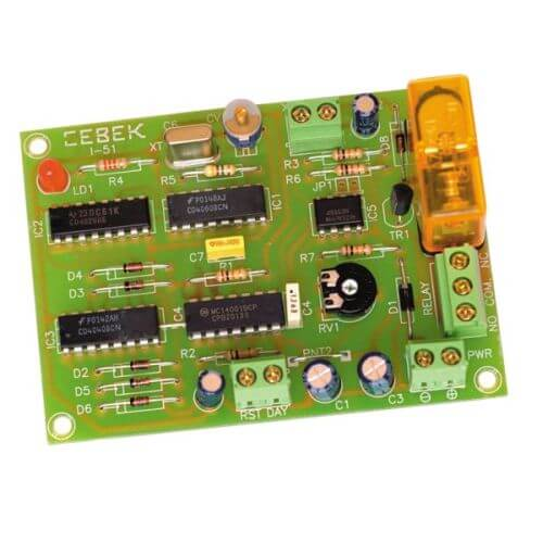 Daily Programmable Timer Relay Module