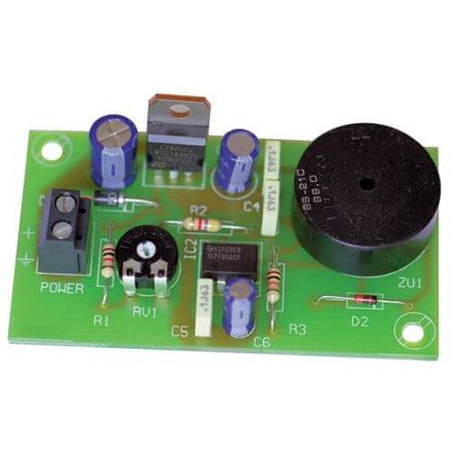 Low Voltage Alarm Buzzer Module, 7-18Vdc