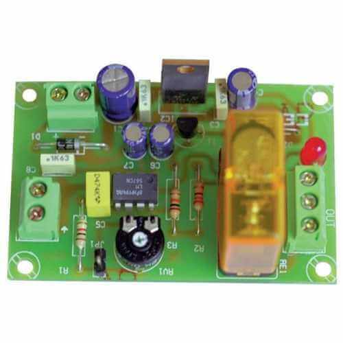 Audio Frequency Activated Relay Module, 2-15 KHz