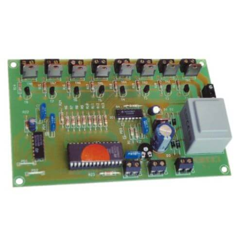 Cebek L-8 230V 8 Channel Sequential Light Controller Module | Quasar UK