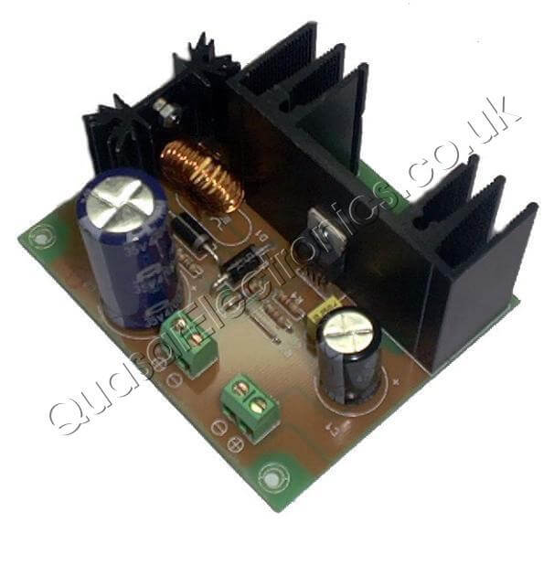 12//24V to 5V 8-40VDC-DC Step-down Adjustable Power Converter Module