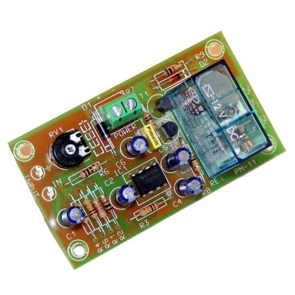 Cebek PM11 Audio Signal Controlled Relay Switch Module Quasar UK
