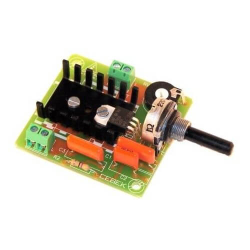 Cebek r 8 ac motor speed controller module 230vac 50hz for Universal motor speed control circuit