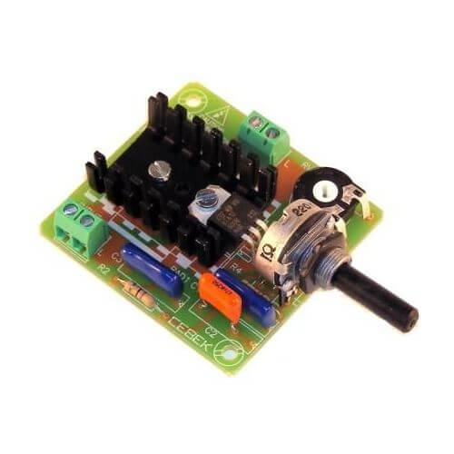 Cebek r 9 ac motor speed controller module 230vac 50hz for Universal motor speed control circuit