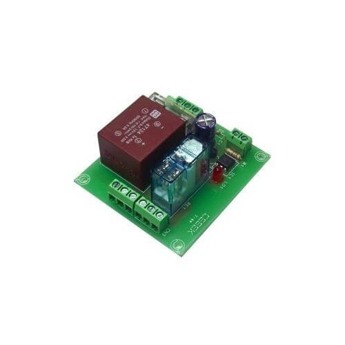 Cebek T-44 (CT044) - 230Vac 1-Channel Isolated IO DPDT Relay Board Module