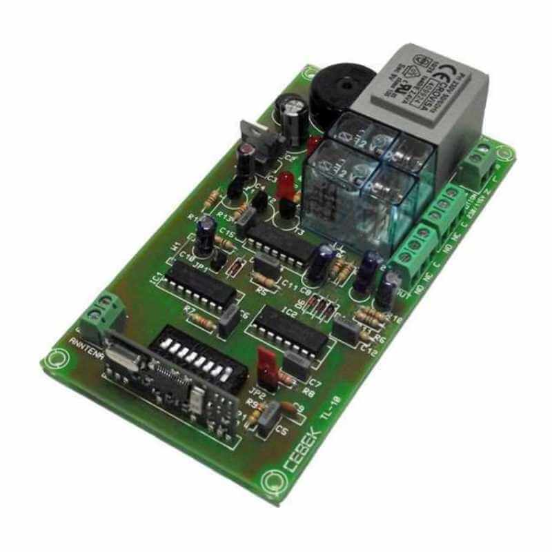 Cebek TL-10 (CTL010) - 2-Channel Toggle Relay Receiver Module, 230Vac