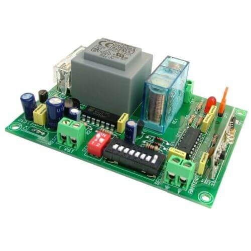 1-Channel Momentary / Toggle Relay Receiver Module, 230Vac