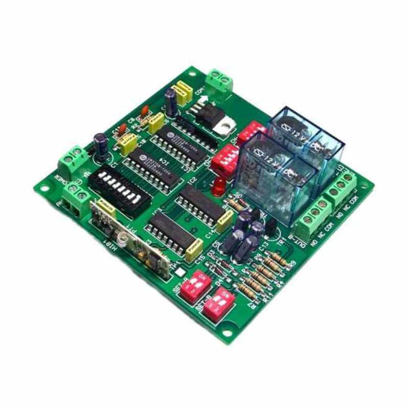 2 Channel Expandable Latching/Momentary Relay Receiver, 12Vdc