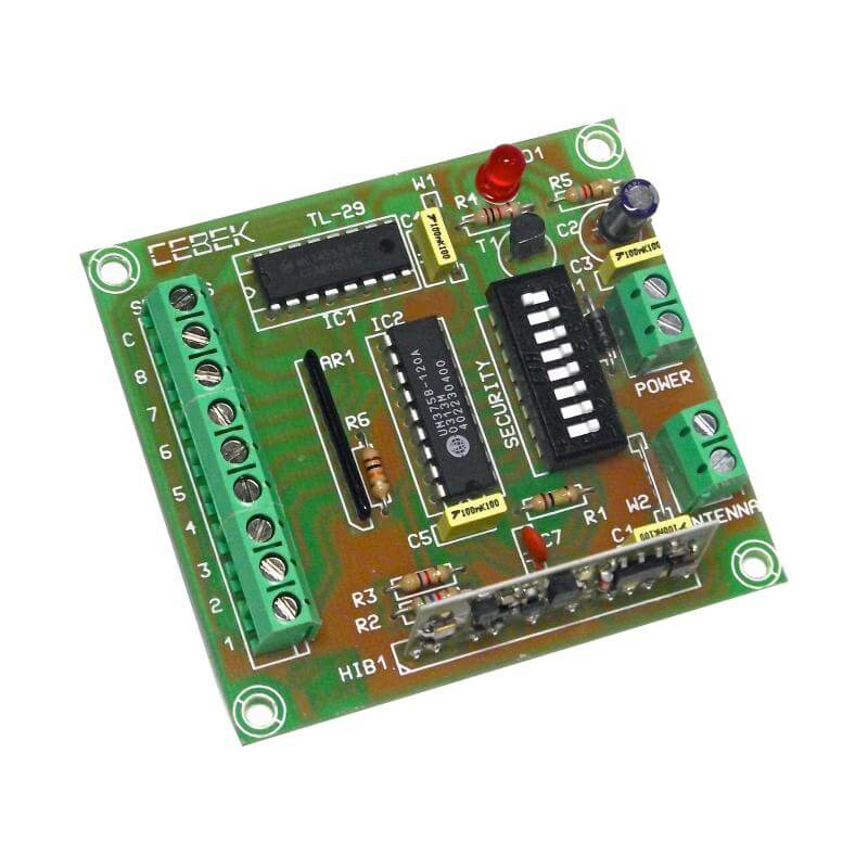 8-Channel Remote Control Transmitter Module, 100m (Group 3)