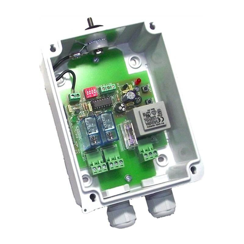 2-Channel IP55 Momentary / Toggle / Timer RF Receiver Module, 230Vac (Group 3)
