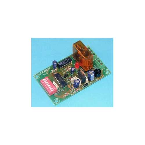 Cebek TL-62 (CTL062) - 1-Channel Relay Receiver Module (Latching)