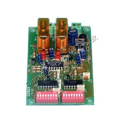 Cebek TL-63 (CTL063) - 2-Channel Relay Receiver Module (Latching)