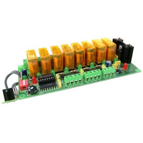 8-Channel Infrared Relay Receiver Board
