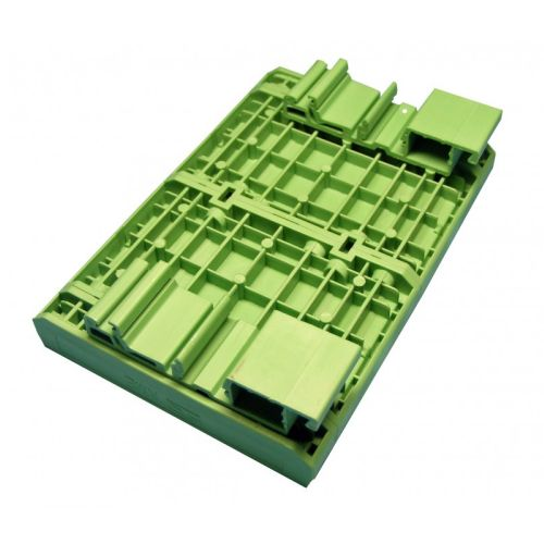 DIN RAIL Mounting, 107 x 98.75 mm