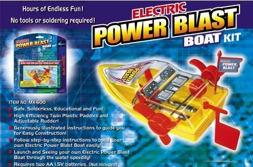 Electric Power Blast Boat Kit (MX-600)
