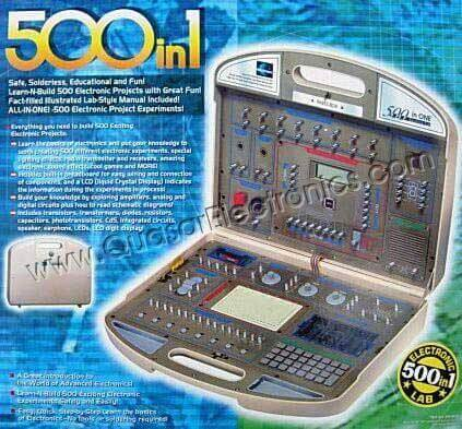 500 in 1 Electronic Project Lab Kit (MX-909)