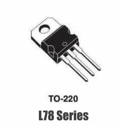 L78xxCV 1 Amp Positive Voltage Regulators (TO220)