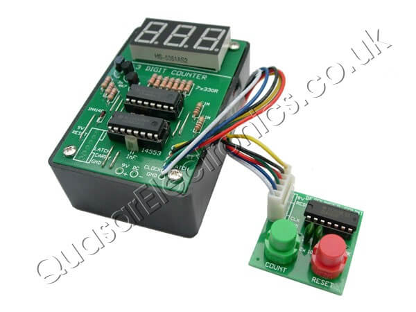 3 Digit LED Event Counter Kit (with Box)