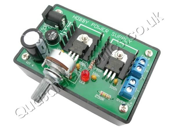 5Vdc and 5-33Vdc Variable Regulated Power Supply Kit