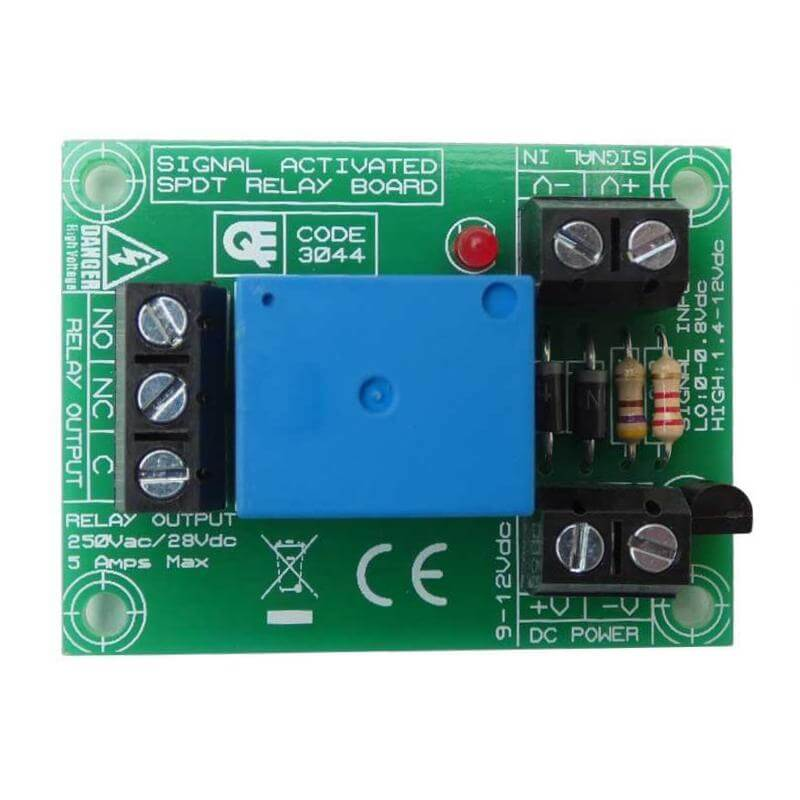 Logic Activated Relay Board