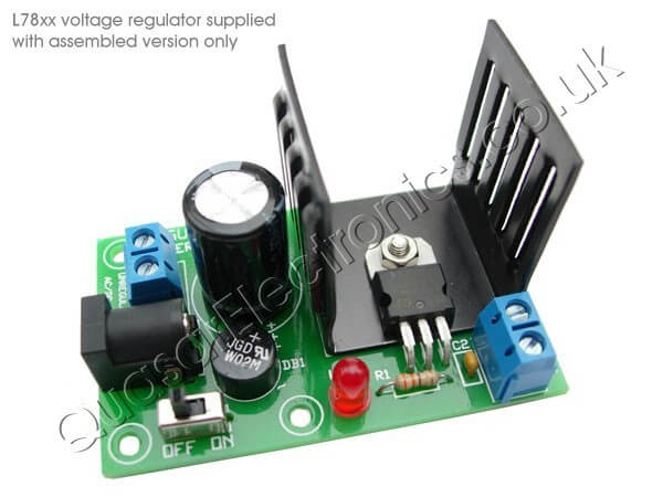 Universal Power Supply Board for 78xx Series Regulators