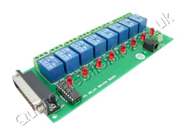 8-Channel PC Controlled Relay Board