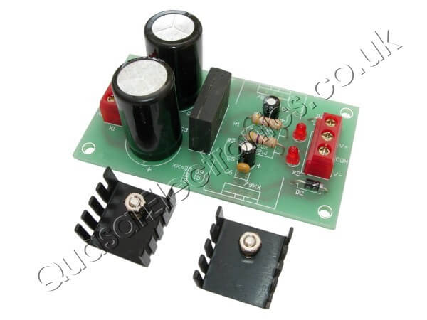 +/- 5 to 18Vdc, 1A Universal Dual Polarity Power Supply Kit