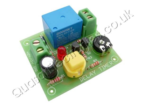Button Activated Delay Timer (12Vdc Output)