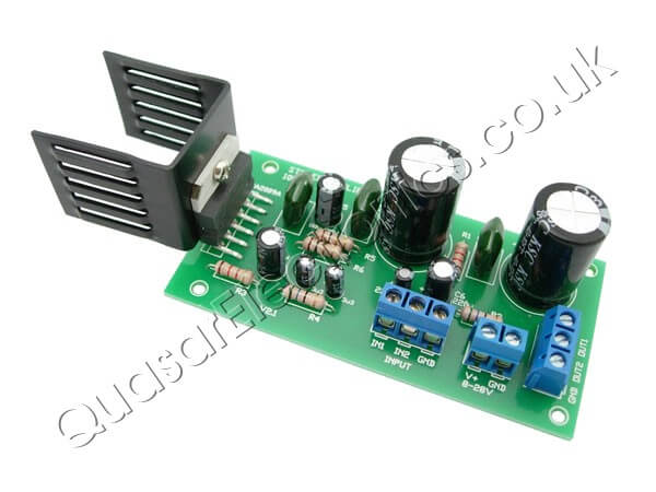 10W Stereo Amplifier (TDA2009A)