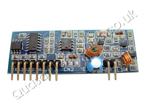 2-Channel 434MHz RF Receiver Module 3302D2-15(2A1)