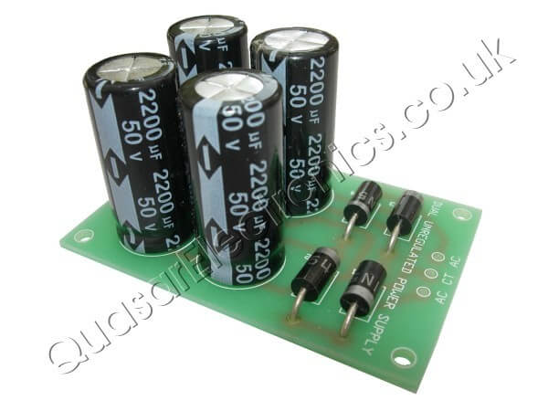 +/- 25V, 2A Dual Polarity Unregulated Power Supply