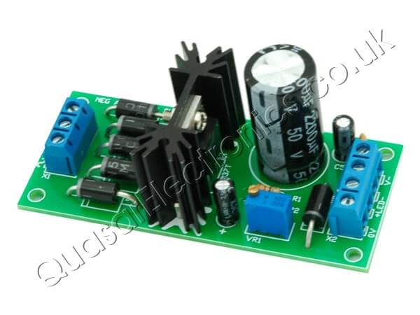 Positive Adjustable Power Supply