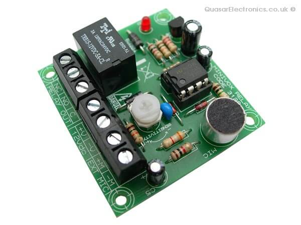 Sound Activated MiniVox Relay Switch