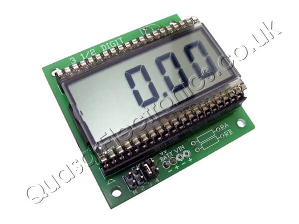 3.5 Digit LCD 7106 Digital Panel Meter DPM