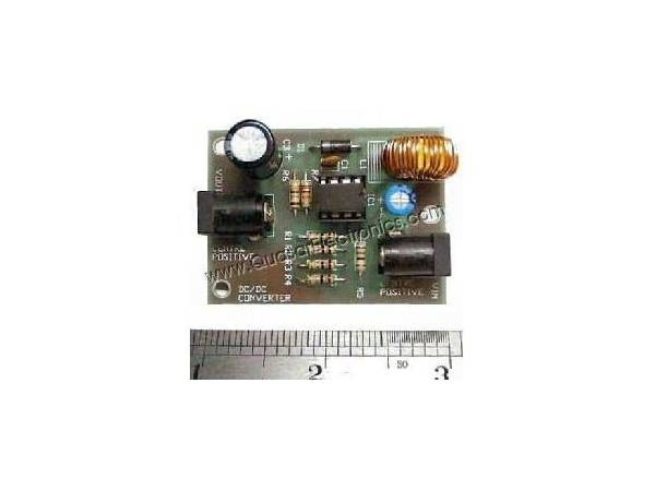DC Voltage Step-Up Converter Kit (12Vdc to 16.5Vdc)