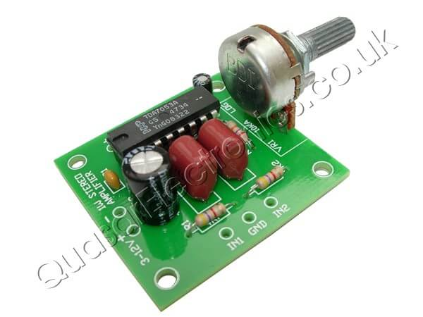 1W Stereo Amplifier (TDA7053A)