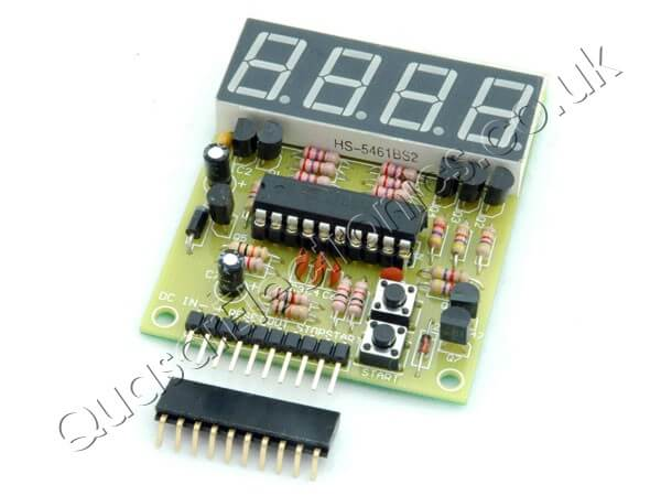 4 Digit Timer Motherboard KIT with 3148T0 Down Counter Firmware
