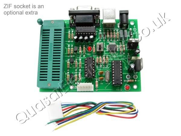 USB / Serial Port PIC Programmer
