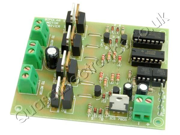 Computer/Logic Controlled Bipolar Stepper Motor Driver, 5 - 50V, 6A
