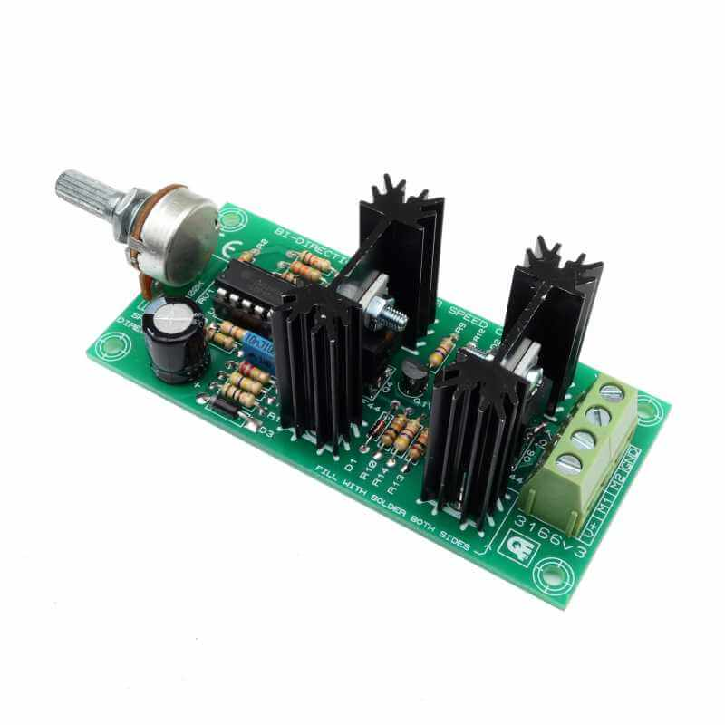 Bidirectional DC Motor Speed Controller