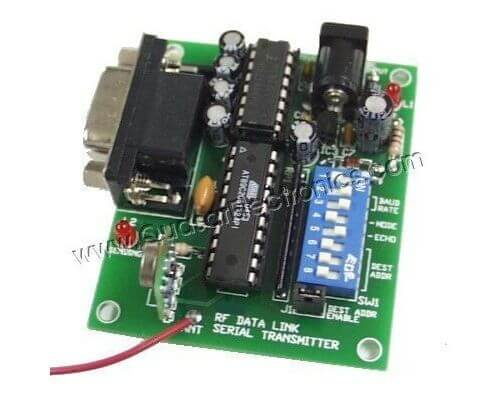 Serial Input RF Data Link Transmitter