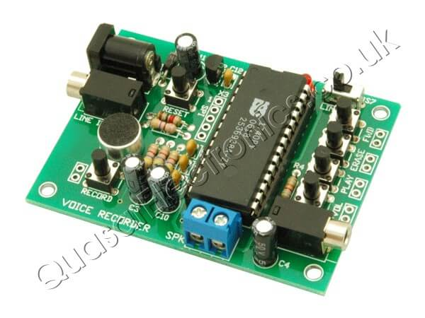 40 Second Message Recorder Board (ISD1740)