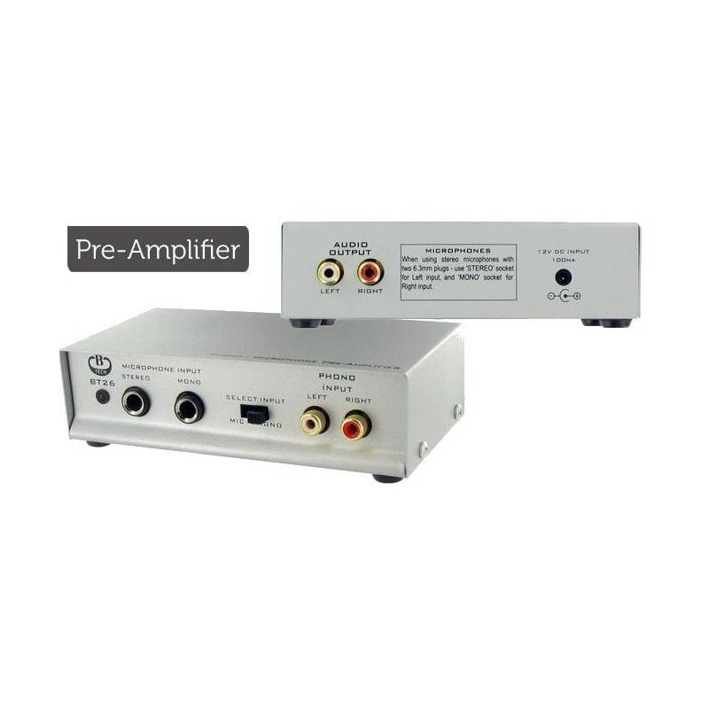Phono/Microphone Preamplifier Unit